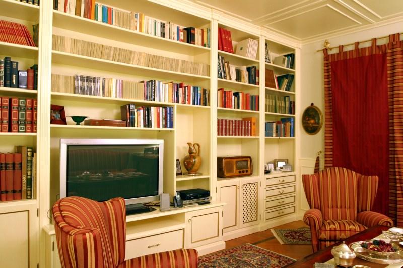 Libreria e parete4